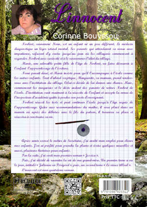 Photo  du livre:  L'Innocent par Corinne Bouyssou