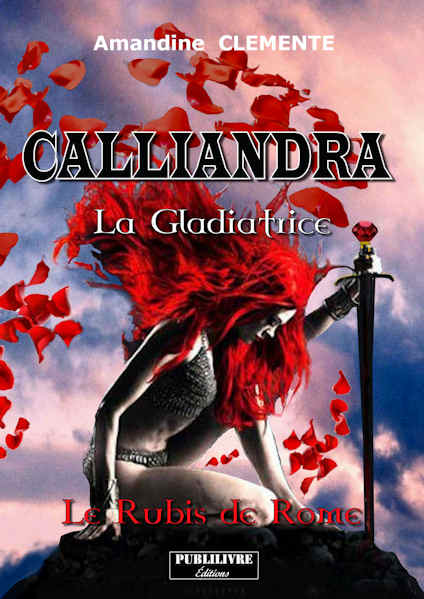 Photo recto du livre:Calliandra par Amandine CLEMENTE