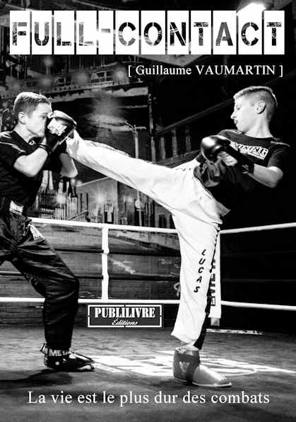 Photo recto du livre:Full-contact par Guillaume Vaumartin