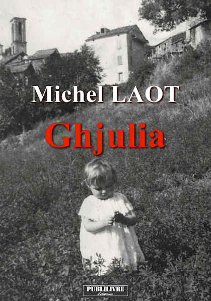 Photo recto du livre: Ghjulia par Michel Laot