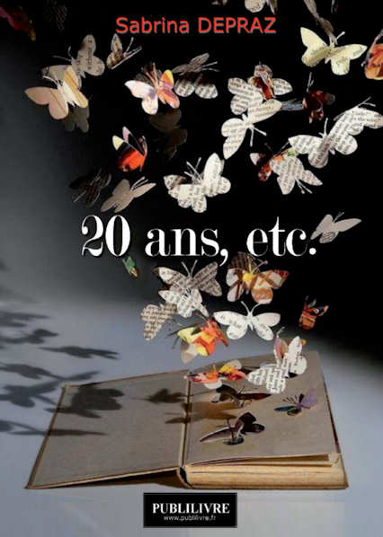 Photo recto du livre:20 ans, etc. par Laura Wilhelm